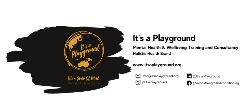 It's a Playground Ltd Cover